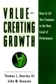 Value-Creating Growth: How to Lift Your Company to the Next Level of Performance (0787946613) cover image