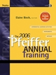 The 2006 Pfeiffer Annual: Training (0787978213) cover image