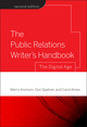 The Public Relations Writer's Handbook: The Digital Age, 2nd Edition (0787986313) cover image