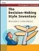 Decison-Making Style Inventory, Participant's Workbook (0787988413) cover image