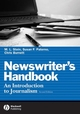 Newswriter's Handbook: An Introduction to Journalism, 2nd Edition (0813827213) cover image