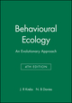 Behavioural Ecology: An Evolutionary Approach, 4th Edition (0865427313) cover image