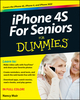iPhone 4S For Seniors For Dummies (1118209613) cover image