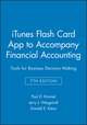 iTunes Flash Card App to accompany Financial Accounting: Tools for Business Decision Making, 7e (1118586913) cover image