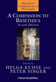 A Companion to Bioethics, 2nd Edition (1405163313) cover image