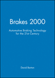 Brakes 2000: Automotive Braking Technology for the 21st Century (1860582613) cover image