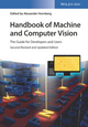 Handbook of Machine and Computer Vision: The Guide for Developers and Users, 2nd Edition (3527413413) cover image