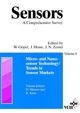 Sensors, A Comprehensive Survey, Volume 8, Micro- and Nanosensor Technology: Trends in Sensor Markets (3527620613) cover image