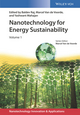 Nanotechnology for Energy Sustainability, 3 Volume Set (3527696113) cover image