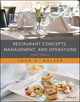 Restaurant Concepts, Management, and Operations 8th Edition (EHEP003713) cover image