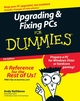 Upgrading and Fixing PCs For Dummies, 7th Edition (0470171014) cover image