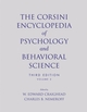 The Corsini Encyclopedia of Psychology and Behavioral Science, Volume 2, 3rd Edition (0471270814) cover image