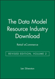 The Data Model Resource Industry Download, Volume 2: Retail eCommerce, Revised Edition (0471441414) cover image