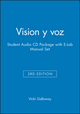 Vision y voz, 3e Student Audio CD Package with E-Lab Manual Set (0471647314) cover image