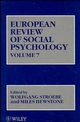 European Review of Social Psychology, Volume 7 (0471965014) cover image