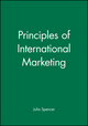 Principles of International Marketing (0631192514) cover image