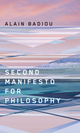 Second Manifesto for Philosophy (0745648614) cover image