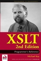 XSLT: Programmer's Reference, 2nd Edition (0764543814) cover image