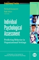 Individual Psychological Assessment: Predicting Behavior in Organizational Settings (0787908614) cover image