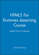 HTML5 For Dummies eLearning Course - Digital Only (12 Month) (1118521714) cover image