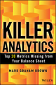 Killer Analytics: Top 20 Metrics Missing from your Balance Sheet (1118631714) cover image