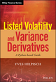 Listed Volatility and Variance Derivatives: A Python-based Guide (1119167914) cover image
