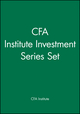 CFA Institute Investment Series Set (1119268214) cover image