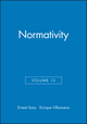 Normativity, Volume 15 (1405138114) cover image
