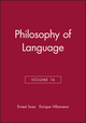 Philosophy of Language, Volume 16 (1405160314) cover image