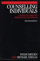 Counselling Individuals: A Rational Emotive Behavioural Handbook, 4th Edition (1861563914) cover image