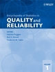 Encyclopedia of Statistics in Quality and Reliability (0470018615) cover image
