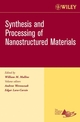 Synthesis and Processing of Nanostructured Materials: Ceramic Engineering and Science Proceedings, Cocoa Beach, Volume 27, Issue 8 (0470080515) cover image