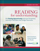 Reading for Understanding: How Reading Apprenticeship Improves Disciplinary Learning in Secondary and College Classrooms, 2nd Edition (0470608315) cover image
