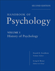 Handbook of Psychology, Volume 1, History of Psychology, 2nd Edition (0470619015) cover image