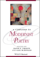 A Companion to Modernist Poetry (0470659815) cover image