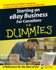 Starting an eBay Business For Canadians For Dummies (0470677015) cover image