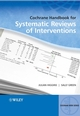 Cochrane Handbook for Systematic Reviews of Interventions (0470699515) cover image