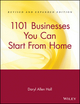 1101 Businesses You Can Start From Home, Revised and Expanded Edition (0471102415) cover image