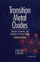 Transition Metal Oxides: Structure, Properties, and Synthesis of Ceramic Oxides, 2nd Edition (0471189715) cover image