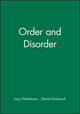 Order and Disorder (0631220615) cover image