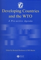 Developing Countries and the WTO: A Pro-Active Agenda (0631225315) cover image