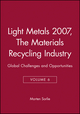 Light Metals 2008, Volume 1, Aluminum and Bauxite (0873397215) cover image