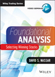 Foundational Analysis: Selecting Winning Stocks (1118633415) cover image