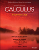 Calculus: Multivariable, 7e Student Solutions Manual (1119378915) cover image