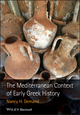 The Mediterranean Context of Early Greek History (1405155515) cover image
