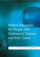Patient Education for People with Parkinson's Disease and their Carers: A Manual (0470027916) cover image