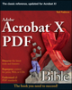 Adobe Acrobat X PDF Bible (0470612916) cover image