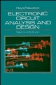 Electronic Circuit Analysis and Design, 2nd Edition (0471125016) cover image