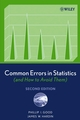 Common Errors in Statistics (and How to Avoid Them), 2nd Edition (0471998516) cover image