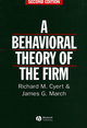 Behavioral Theory of the Firm, 2nd Edition (0631174516) cover image